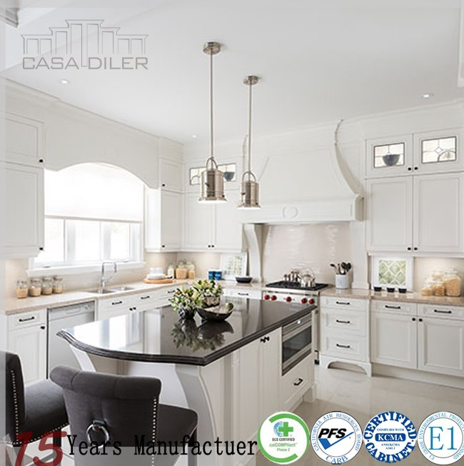 2015 New Design Shaker Style Best White Kitchen Cabinets