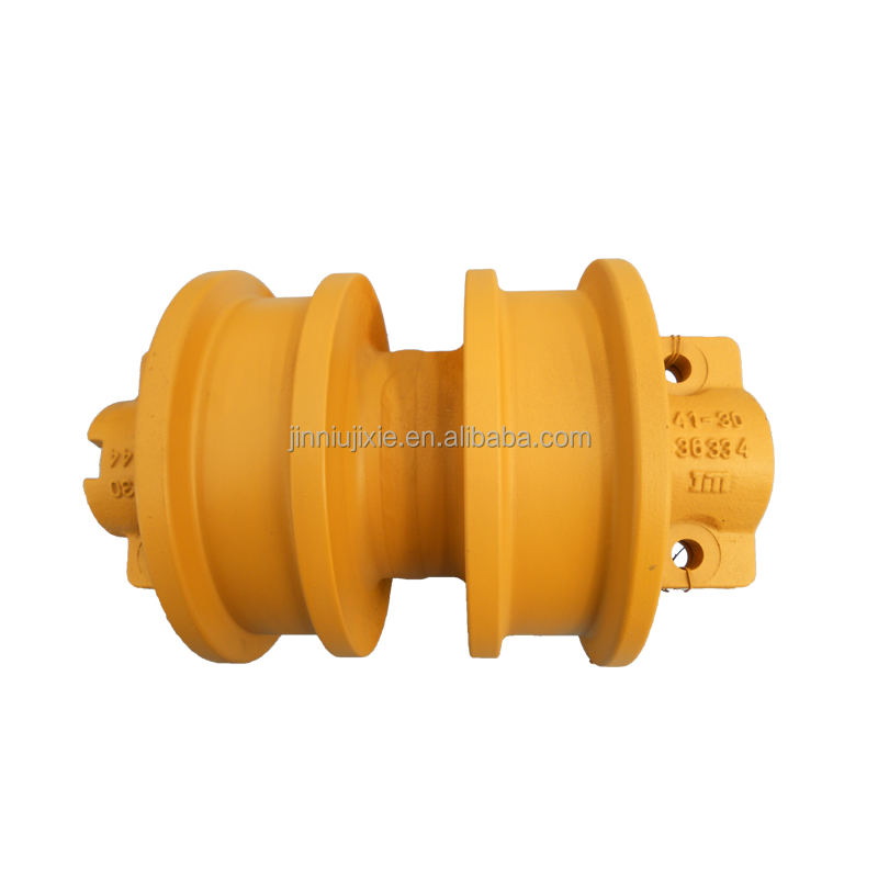 2014 New design low price bulldozer parts double flange track roller KO 21-532