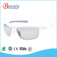 With quality warrantee rimless sunglasses