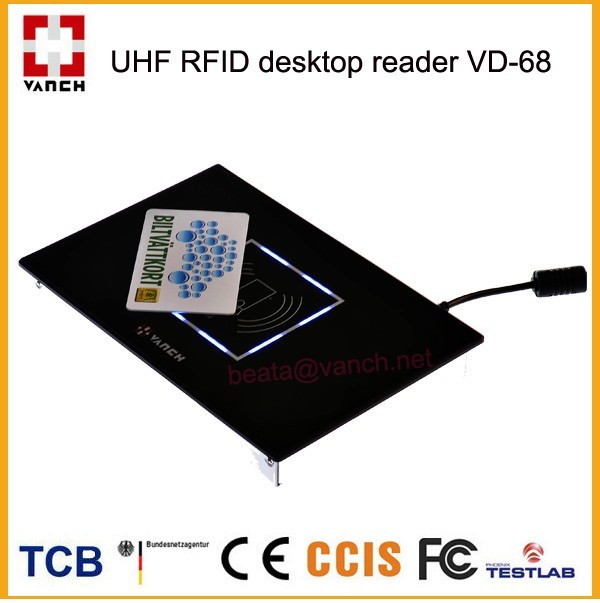 wall mount UHF RFDI Reader/Writer support RS232,RS485,Weigand 26