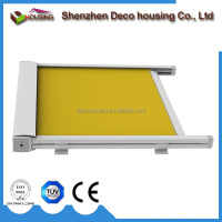 Motorized Sunshade Retractable aluminum awning and canopy