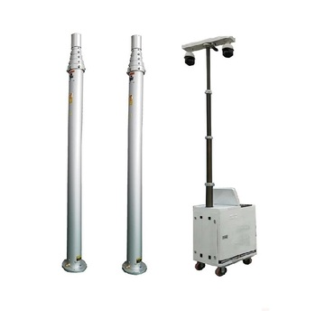 30kg head load 6m pneumatic camera telescopic mast