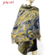 1Good quality jacquard mexican lady winter oversize cape poncho ponchos