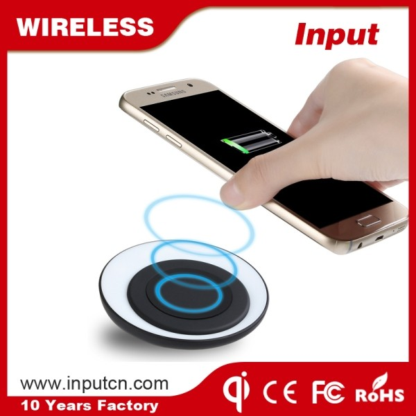 Latest Mobile Charging Treasure Wireless Qi Charger Plate for Mi Xiaomi Note 2