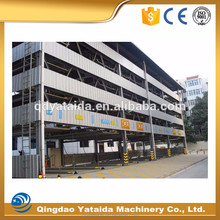 three layer puzzle steel structure materials mechanical car parking system
