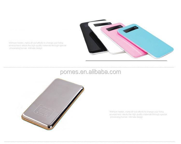 2016 High Quality Portable Power Bank 5000mah For All Kinds Of Mobile phone