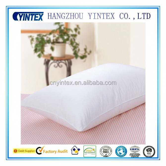 Wholesale Polyester Fiber Pillow Cotton Cover For Home Hospital Hotel