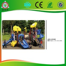 JMQ-K034B Garden Children Plastic playground Slide