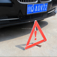 Car emergency tools reflecting warning triangle with high quality