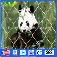 Large cages for zoo chain link netting