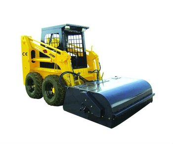Sweeper of skid steer loader WITH CE AND EPA AND GOST CERTIFICATE