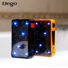 Transparent Designed 200W Sigelei Kaos Z Vape Box Mod with LED Lights