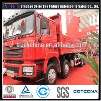 Shacman cargo truck F3000 8x4 flatbed truck dimensions
