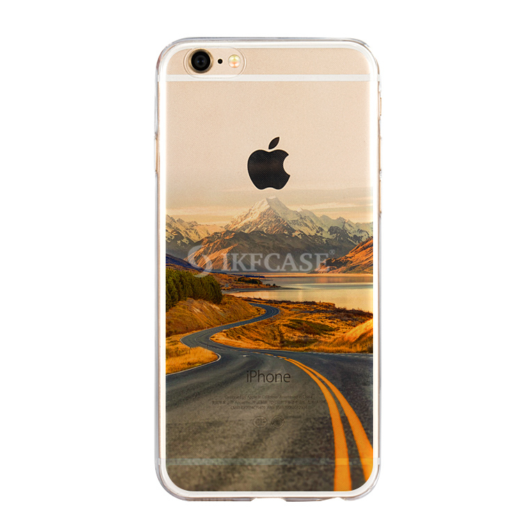 Luxury Soft TPU Case Printing Painted Back Phone Cover Case For Iphone 5