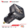 Waterproof external sensor digital tire pressure monitor