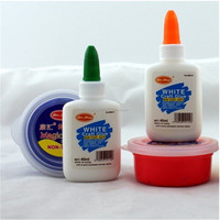Children handmade glue - light clay color clay special white latex quick glue - drying vials 40ml factory direct supply