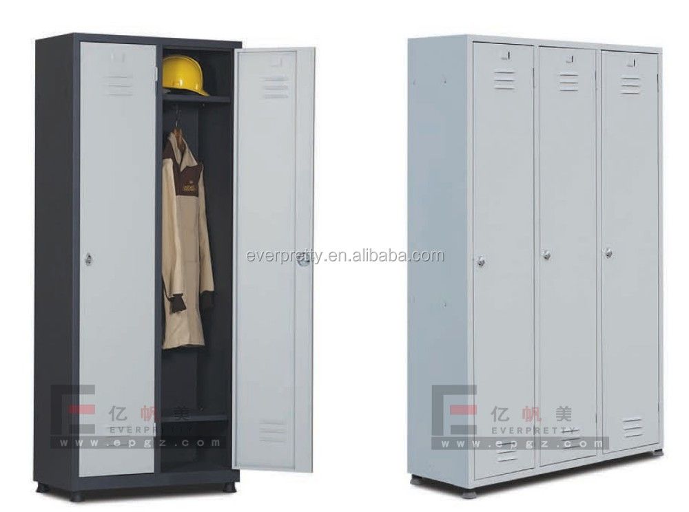 Steel clothes locker, emplyee valuables storage, school metal lockers