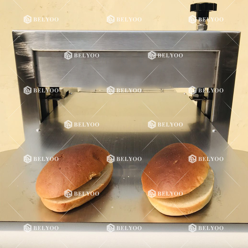 Toast Slicer Electric Bun Cutting Machine Bread Production Line For Bakery