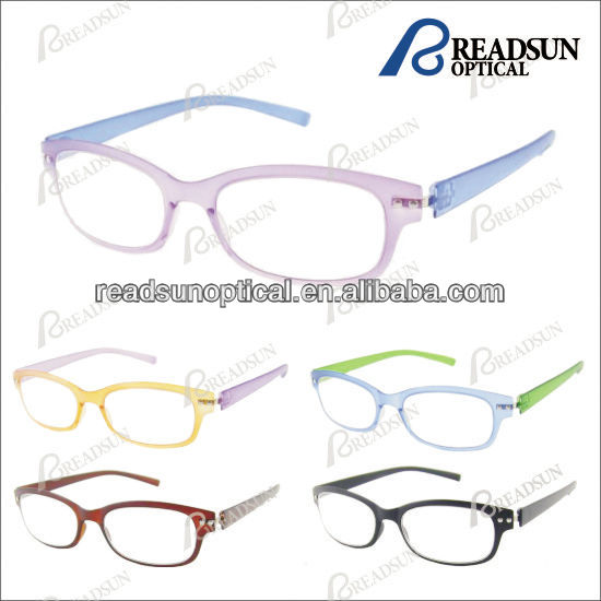 2016 Fashion Colorful Ultrathin Plastic Reading Glasses(RP472006)