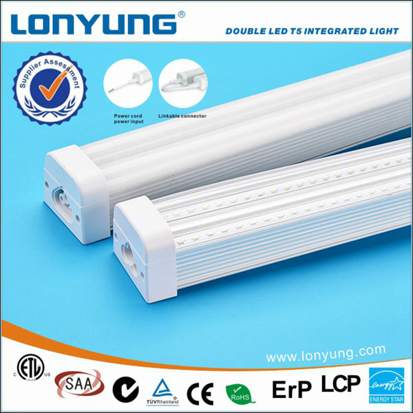 Double LED T5 Interated light led red tube 5