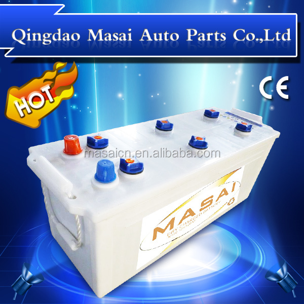 Dry Charged Auto Battery N120 12V120AH