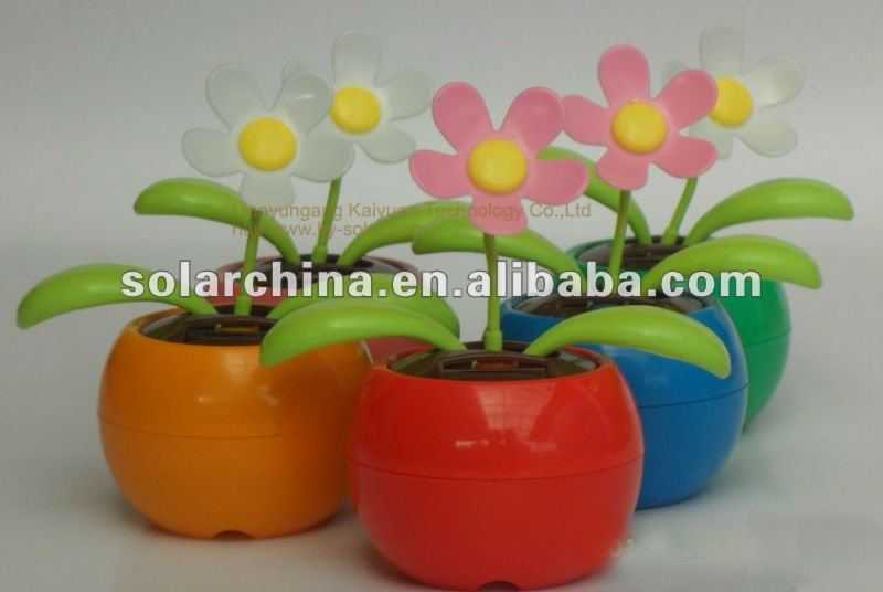 popular products solar dancing flower put in the car