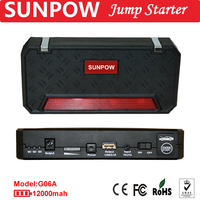 Battery power bank muti-function car jump starter portable jump starter