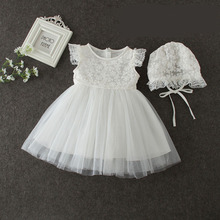 Lace Flower Rustic Lace Girl Baby Country Wedding Flower Dress
