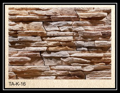 2016 high quality light weight artificial stone for wall cladding