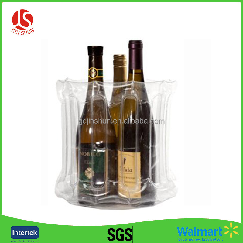 Wine Bottle Protection Transparency Plastic Bubble Bag