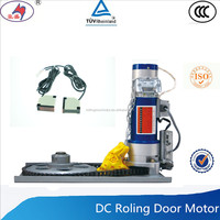 specialized 300kg DC rolling door motor with universal remote control