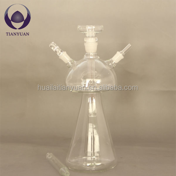 china hand blown borosilicate glass shisha hookah
