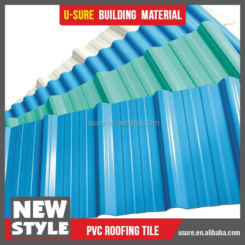 brand new pvc roof tile galvanized roof ridge cap