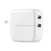 alibaba 5v 4.8A 2 port Mobile Phone USB Charger phone accessories for iPhone6 6s iPad Samsung Galaxy HTC Nexus