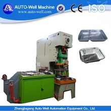 Aluminum foil restaurant/ hotel/ kitchen/ household container production line