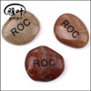 Engraved Words Stones Natural Mixed Polished