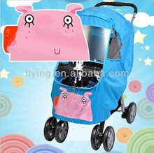 Baby Stroller Rain Snow Wind Sun Cover baby pushchair Weather Shield 6