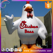 sale well high quality inflatable chicken for outdoor and decoration