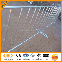 hot-dipped galvanized pedestrian control barriers