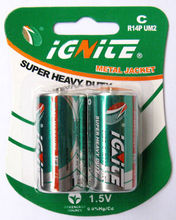 C size batteries for torch