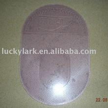 Round rubber sticky pad mat