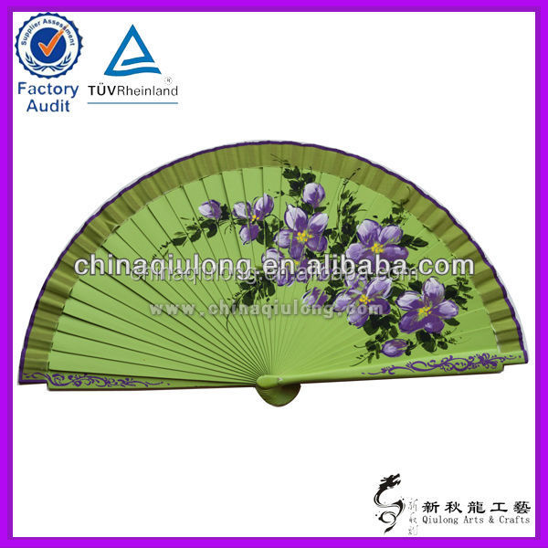 Wholesale Wooden Products Custom Fans Wooden Handicrafts