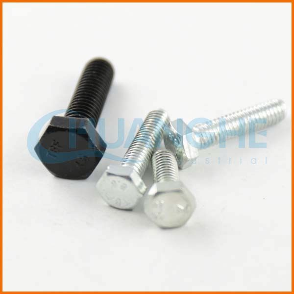 High Tensile Fastener nut and bolt, hex bolt sleeve anchor with plastic ring