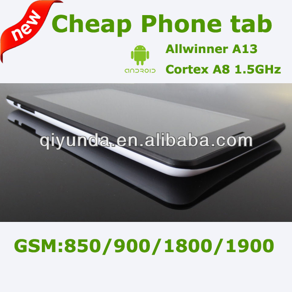 Tablet PC Very Cheap 7-Inch Android 4.0 Allwinner A13 2G GSM Phone call Phablet Tablet PC