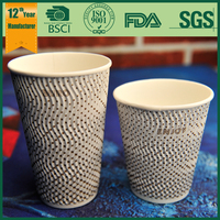 Ripple Wall Paper Cup,Coffee Paper Cup,Paper Coffee Cup