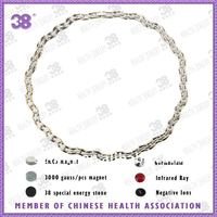 Hot fashion easy to adjust the length magnetic necklace+magnetic balls necklace