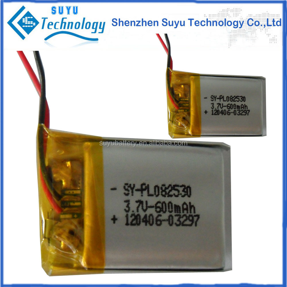Power tool battery 502030 301030 502535 3.7V high rate lipo battery