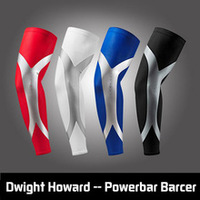 100% AA++ Newest Arrival High Elastic Quick Dry Dwight Howard Sport Elbow Arm Warmers Pad Long Arm Sleeve Support Basketball