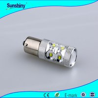 Switchback LED Bulbs SMD S25 crees 50W DRL/Turn Signal led Light