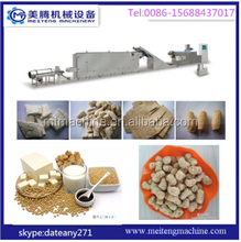 High Quality Extruded Soya Chunks Machines